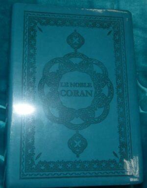 Le Noble Coran (arabe/français/phonétique) Turqoise-0