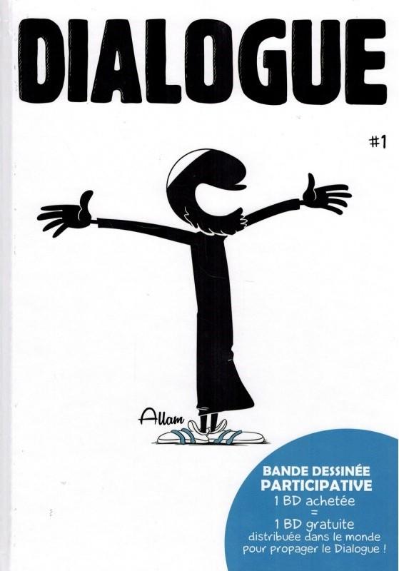 Dialogue - Tome 1 - BDouin (Bande Dessinée Participative)-0