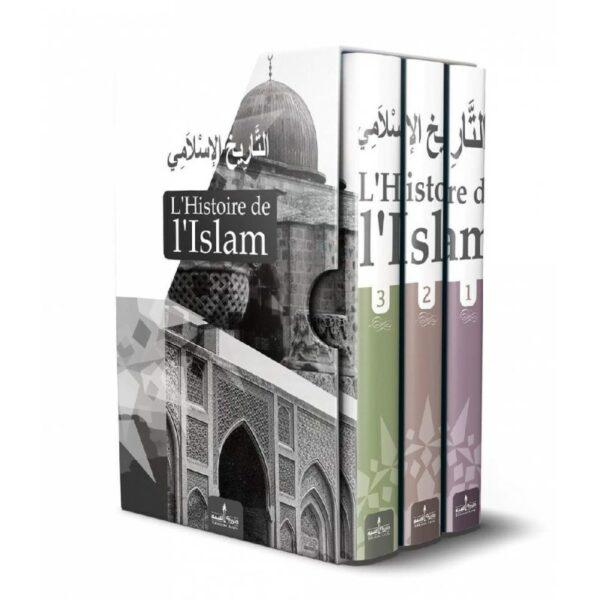 L'Histoire de l'Islam (التاريخ الاسلامي) - 3 Volumes - Editions Assia-0