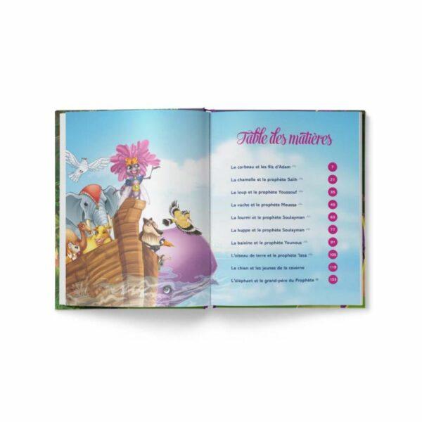 Les animaux du Coran racontés aux enfants Siham Andalouci - Edition Tawhid-9110