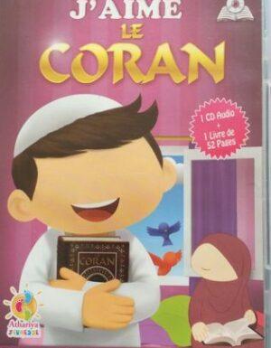 J'aime le Coran (1CD Audio + 1 Livre)-0