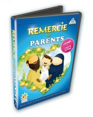 Remercie tes parents (1 CD Audio + 1 Livre) - Athariya Jeunesse-0