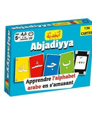 Jeu de cartes « Abjadiyya » – Apprendre l'alphabet arabe en s'amusant – Osratouna