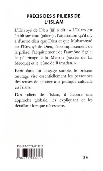 Précis des 5 piliers de l'islam -9434