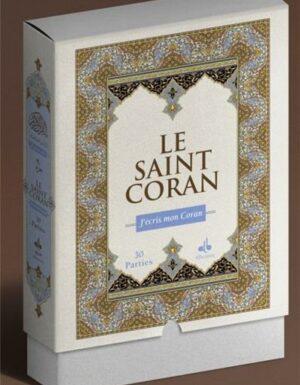 J´écris mon Coran - Coffret 30 parties - Complet - Arabe seul-0