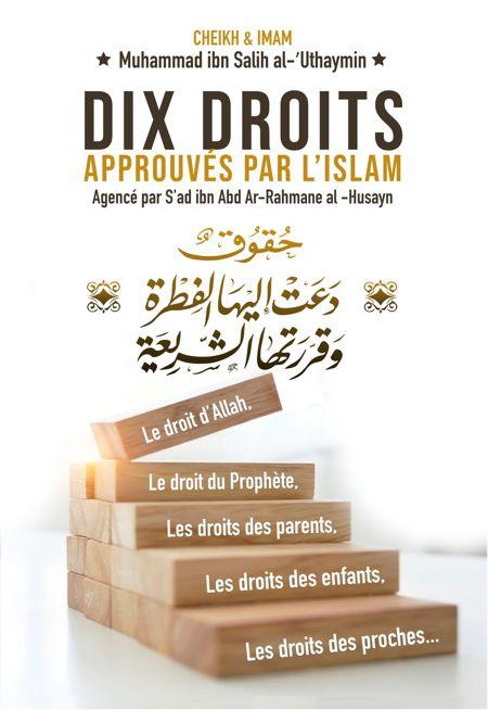 Dix Droits Approuvés Par L'Islam